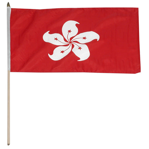 Hong Kong 12 x 18 Flag