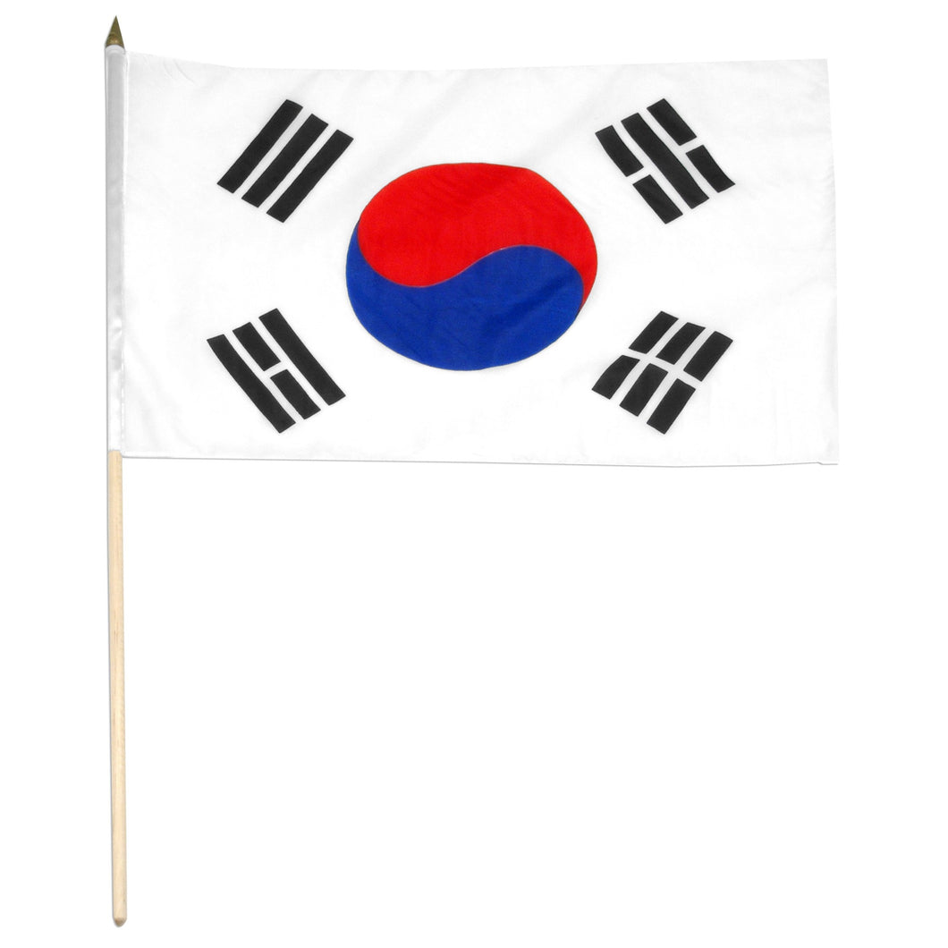 Korea South 12 x 18 Flag