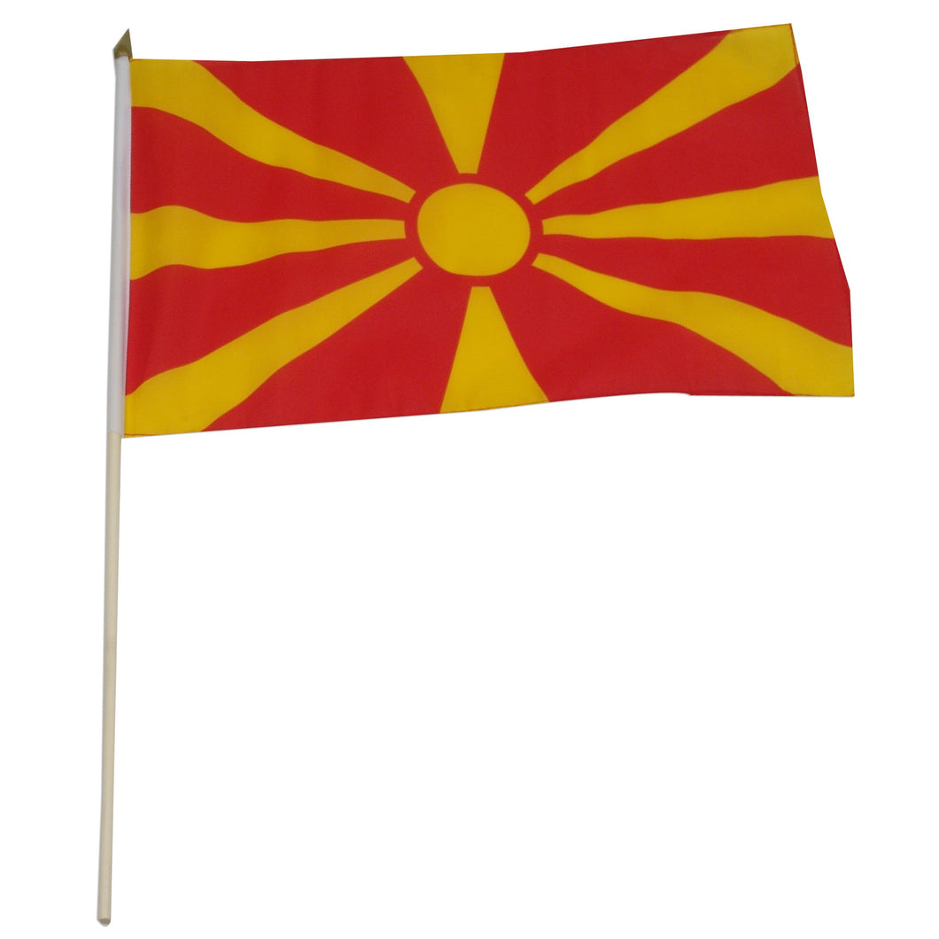 Macedonia 12 x 18 Flag