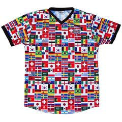World Cup Soccer Jersey (Black Sleeves)