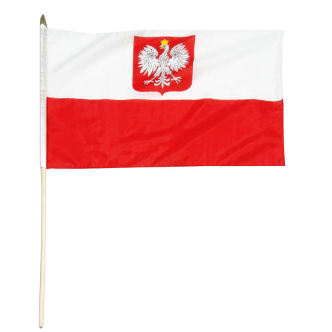 Poland State 12 x 18 Flag (Civil Ensign)
