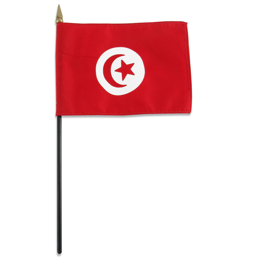 Tunisia 4x6 Flag