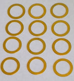 Globe®  Brass Knife Plate Shims - Stocker - 2