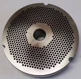 "#52 x 1/8"" Hubbed Meat Grinding Plate - L. Stocker and Sons - 2"