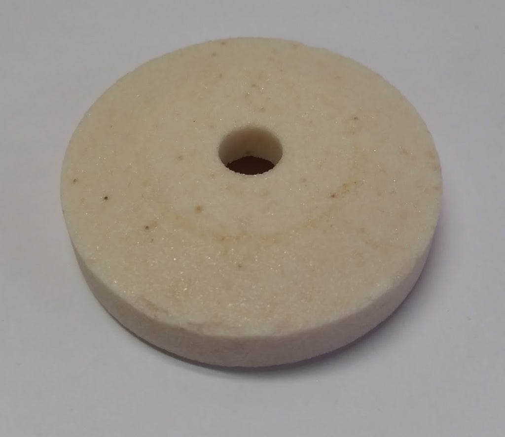 Globe® White Grinding Stone - L. Stocker and Sons