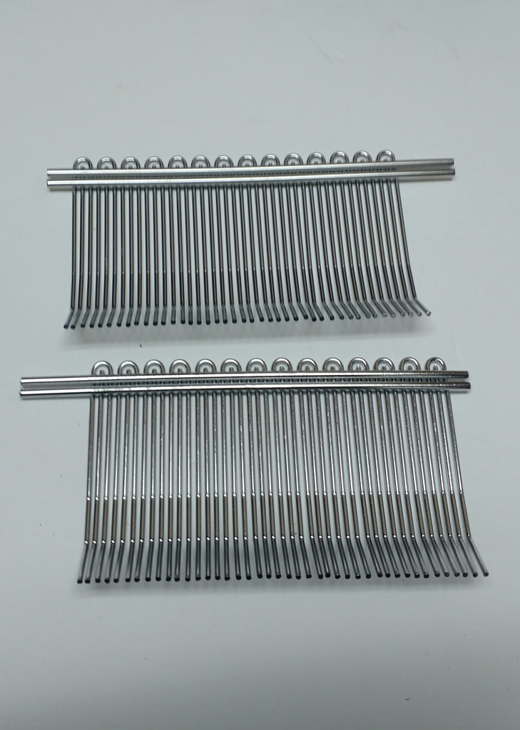 Biro Tenderizer Wire Combs for Stew/Fajita Cutter- Front and Back