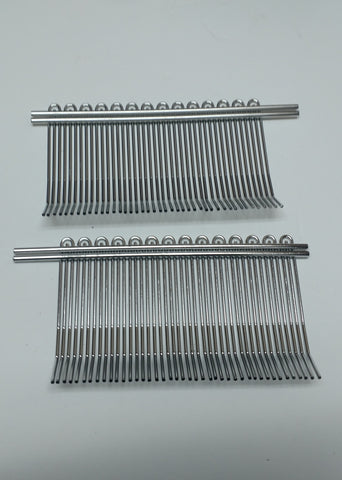 Biro Tenderizer Wire Combs - Front and Back