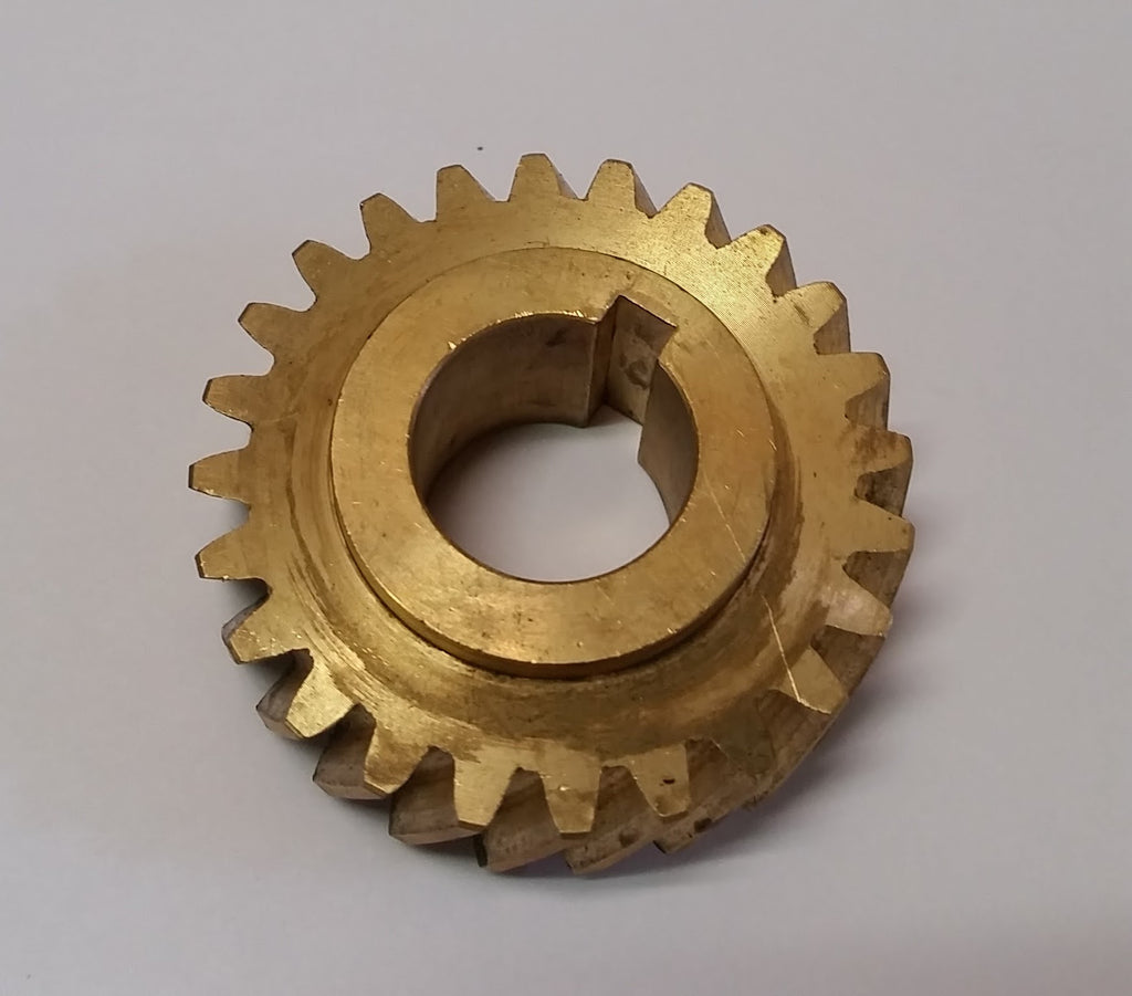 Hobart®  Bronze Knife Shaft Worm Gear - L. Stocker and Sons - 1
