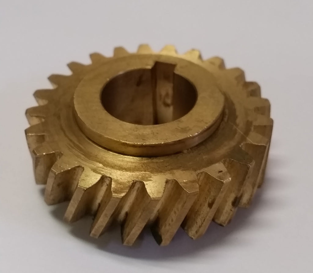 Hobart®  Bronze Knife Shaft Worm Gear - L. Stocker and Sons - 3