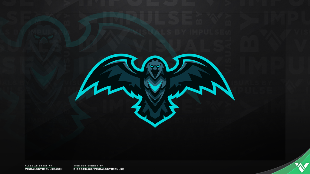 Steel Eagle Mascot Logo - Visuals by Impulse