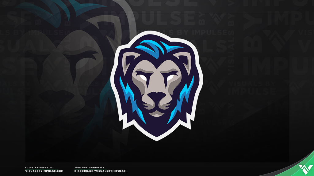 Lion Mascot Logo - Visuals by Impulse