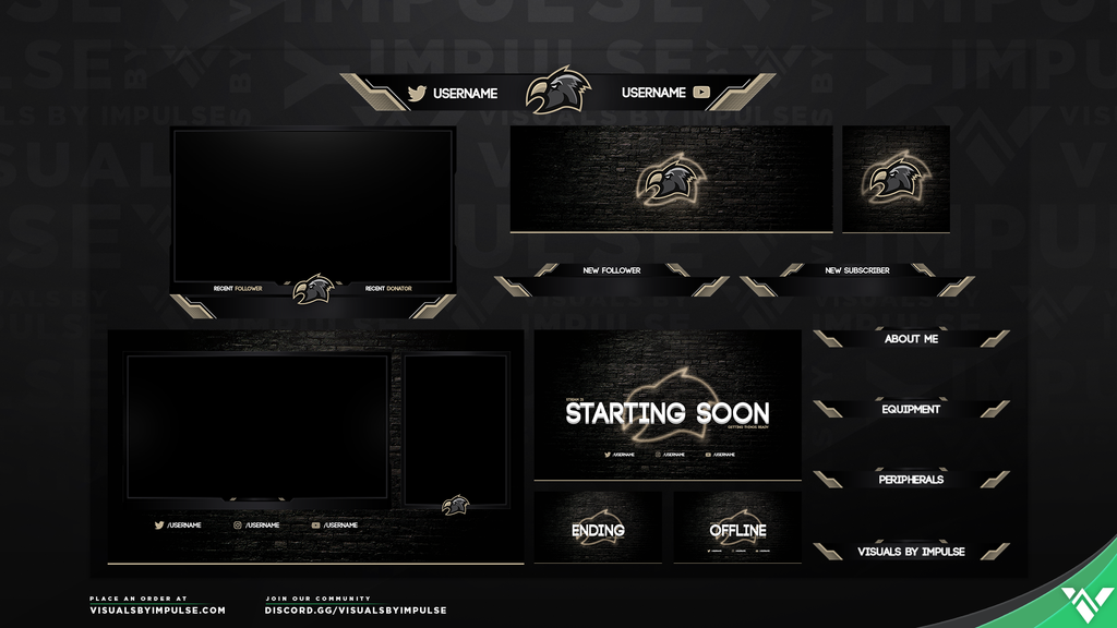 Eagle Diamond Stream Package - Visuals by Impulse