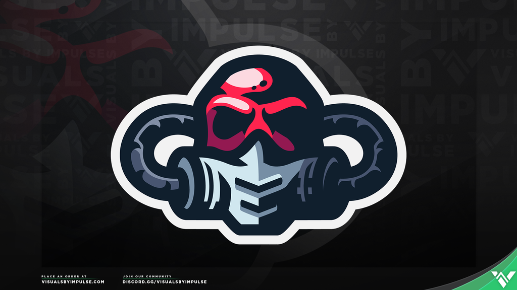 Gas Mask Mascot Logo - Visuals by Impulse