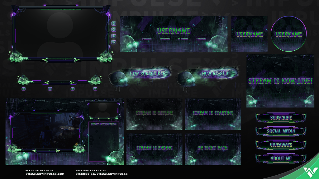 Skull Splitter Stream Package