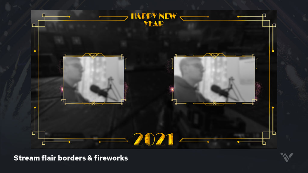 2021 New Years Stream Flair