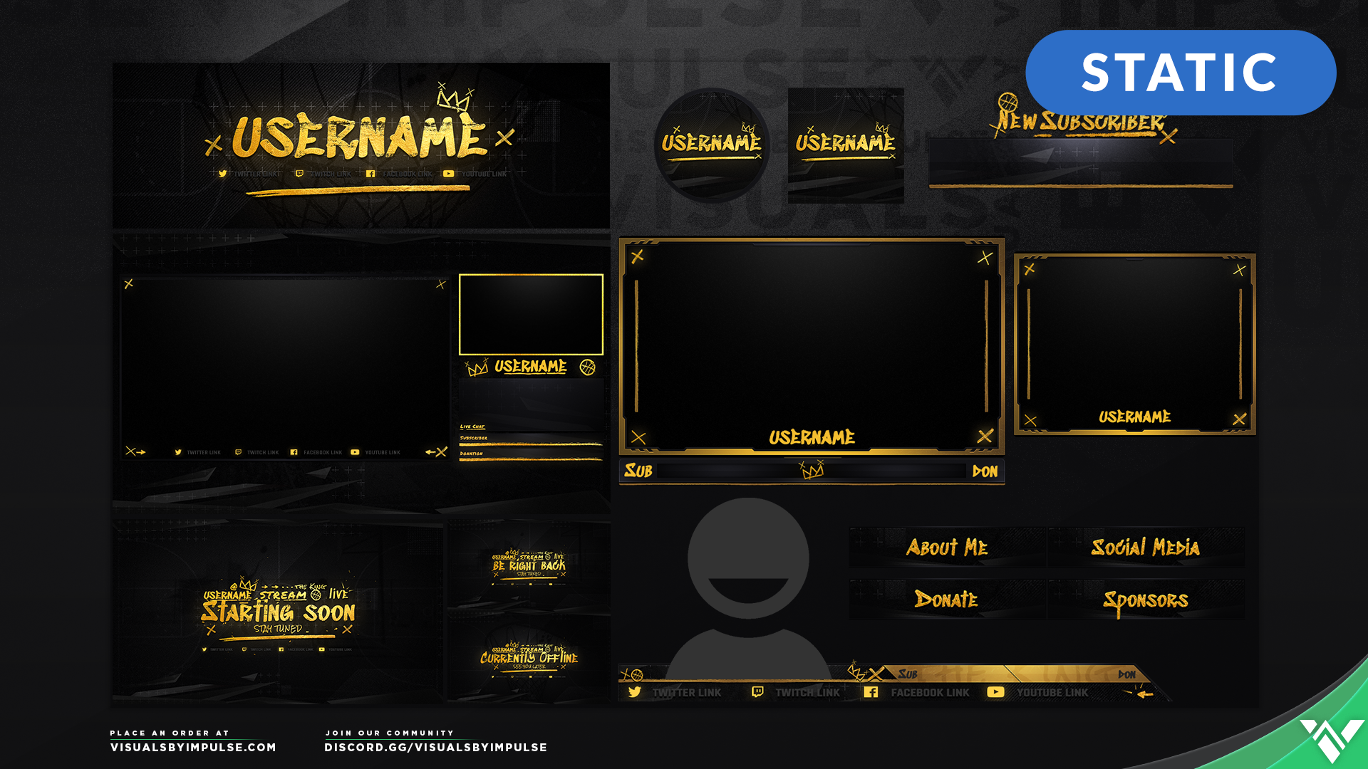 2K Stream Overlays - NBA 2K19 Graphics for Twitch and Mixer
