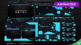 Pixel Storm Animated Stream Package - Visuals by Impulse