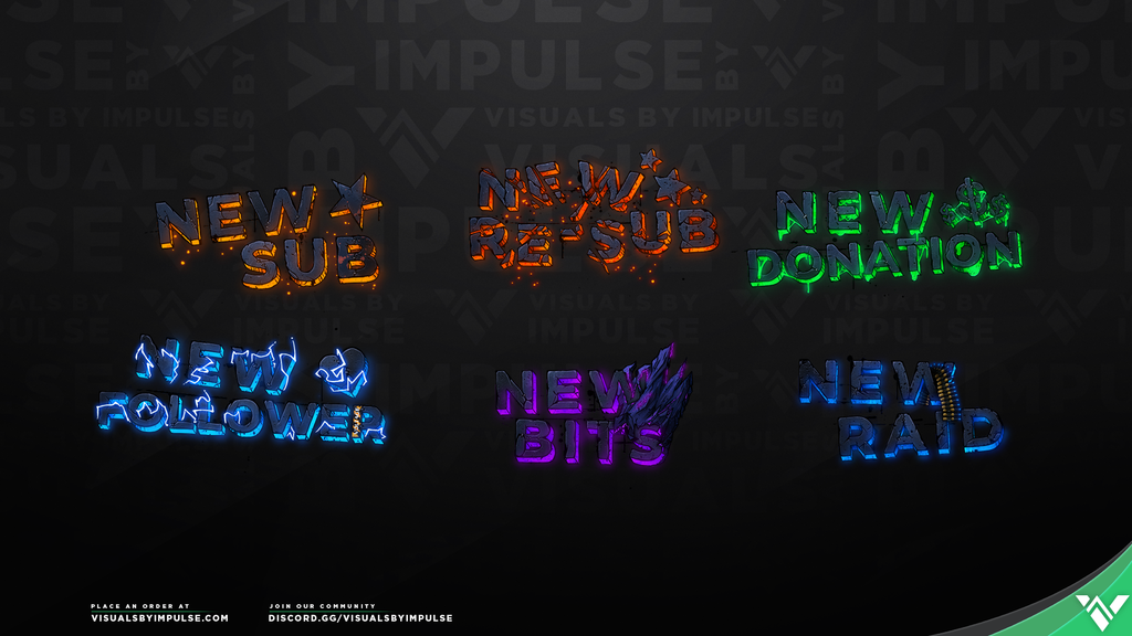 Mayhem Stream Package - Visuals by Impulse