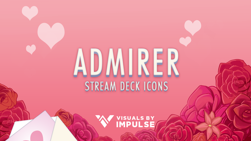 Admirer Stream Deck Icons - Visuals by Impulse