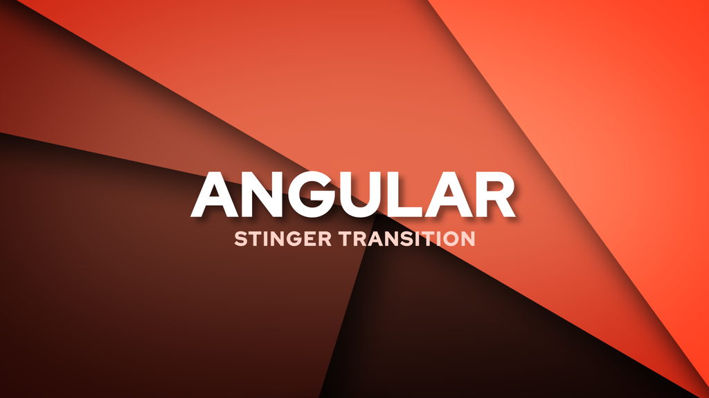 Angular Stinger Transition Template