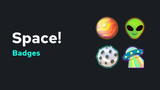 Space! Badges