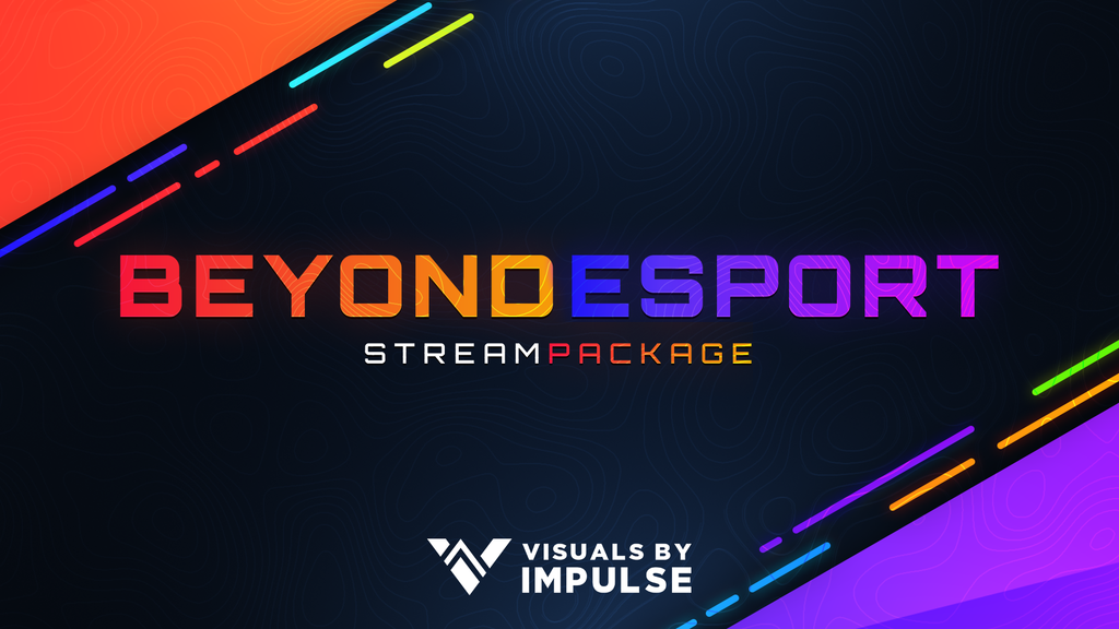 Beyond Esports Animated Stream Package