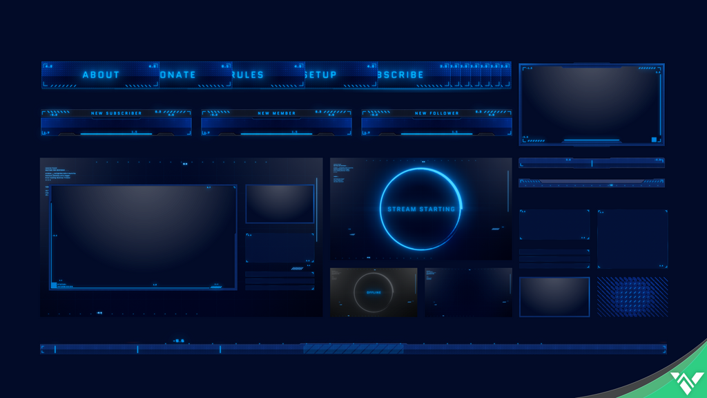 Talon II Stream Package - Visuals by Impulse