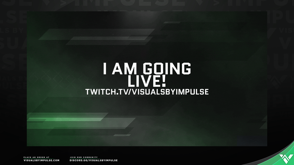 Champion Going Live Annoucement - Visuals by Impulse