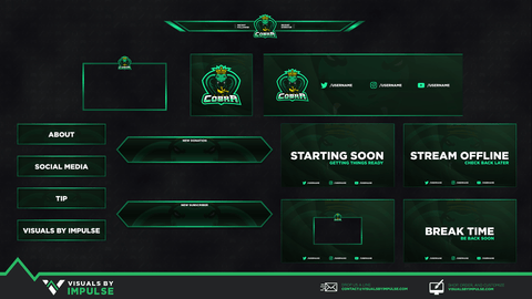 Cobra Diamond Stream Package