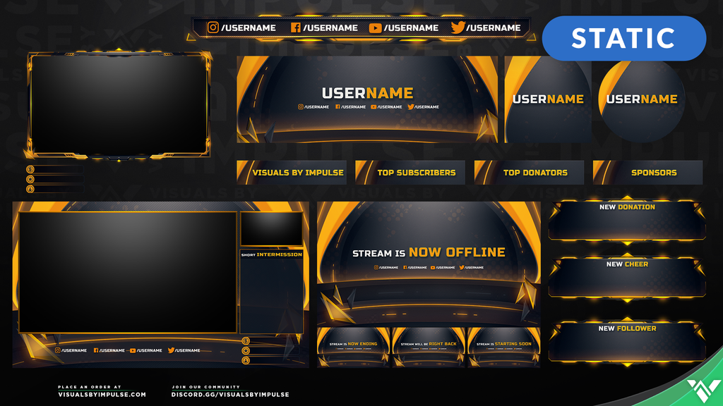 Corelite Stream Package - Visuals by Impulse