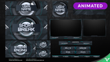 Cyber Animated Stream Package - Visuals by Impulse