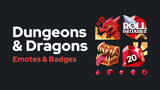 D&D Emotes & Badges
