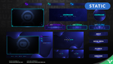 Dark Matter Animated Stream Package - Visuals by Impulse