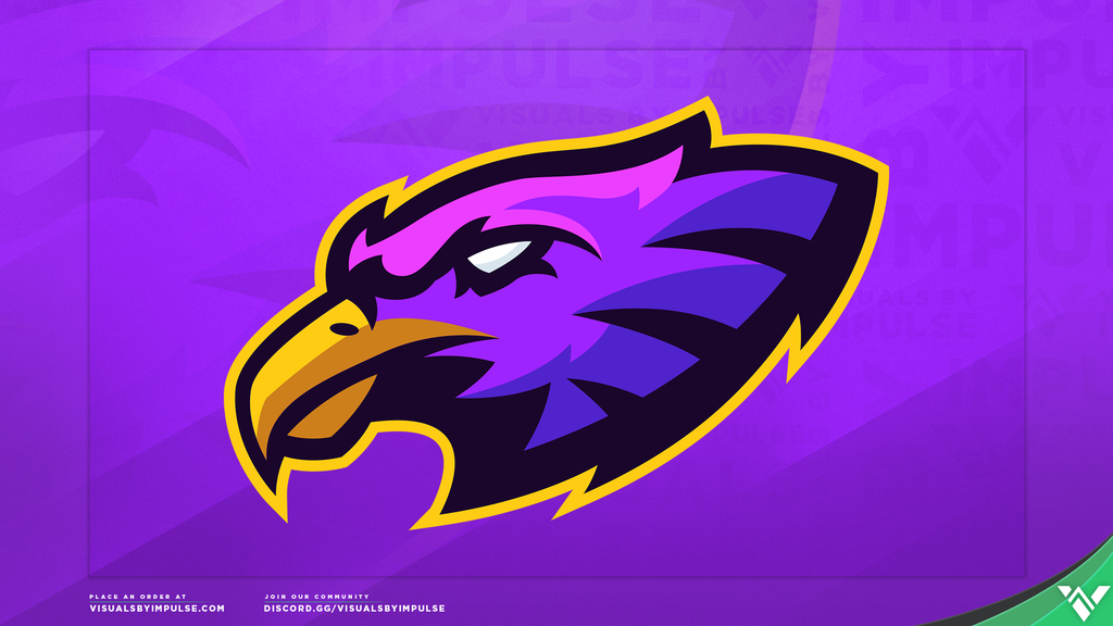Eagle Mascot Logo - Visuals by Impulse