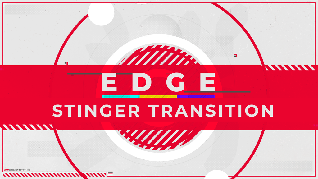 Edge Stinger Transition - Visuals by Impulse
