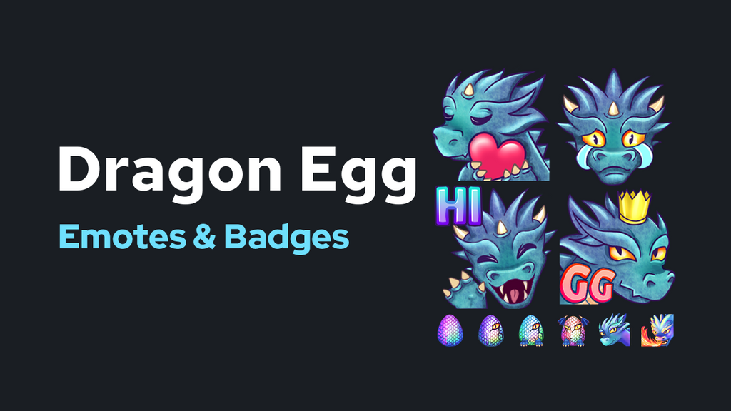 Dragon Egg Emotes & Badges