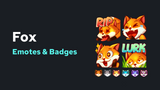 Fox Emotes & Badges