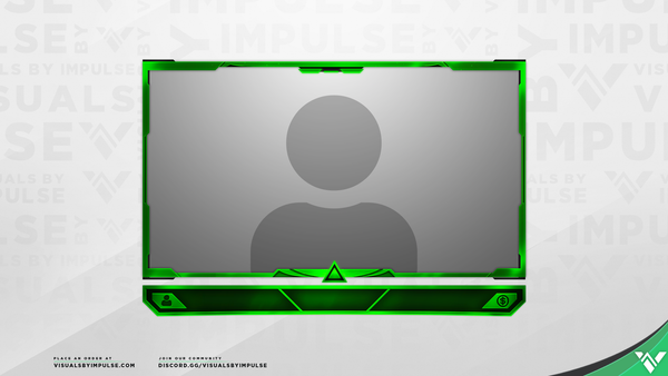 'Prism' Webcam Overlay: FREE Stream Template for Twitch ...