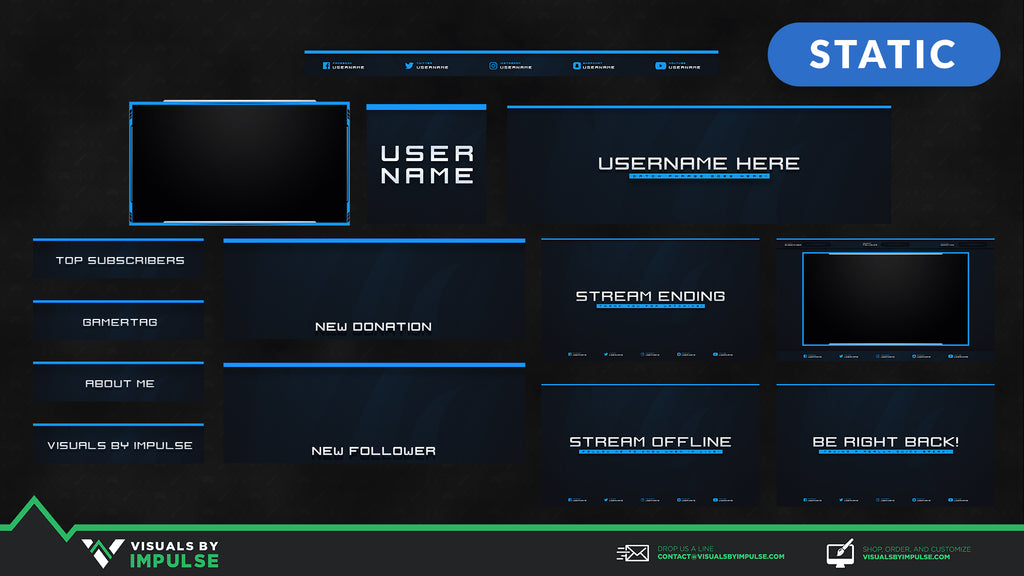 Hydro Stream Package - Visuals by Impulse