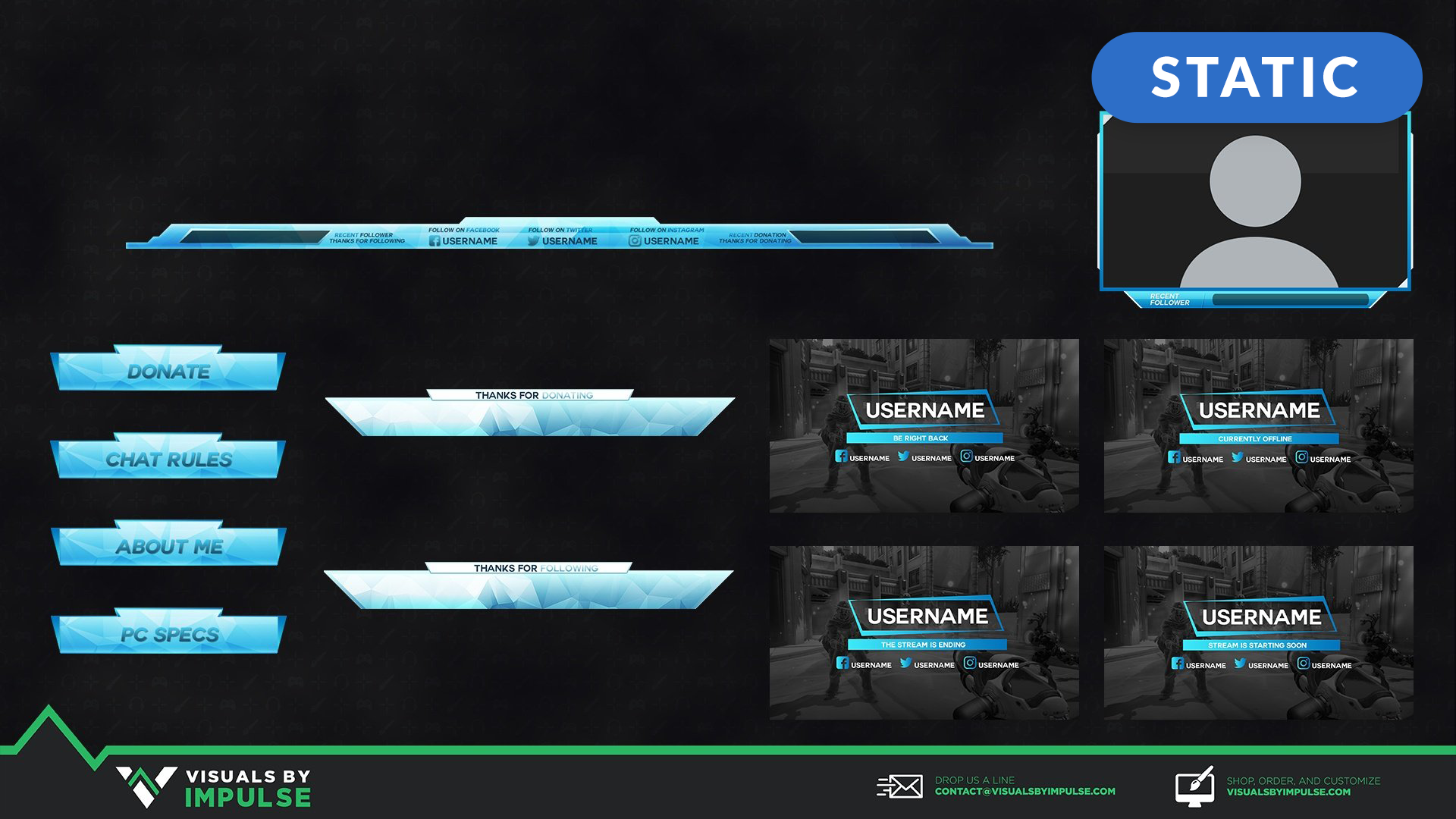 Ice Stream Package