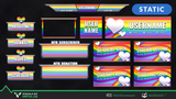 LGBT Pride Stream Packages - Visuals by Impulse