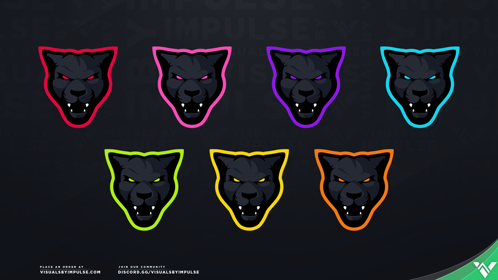 Black Panther Logo - Visuals by Impulse