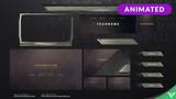 Pilot Animated Stream Package - Visuals by Impulse