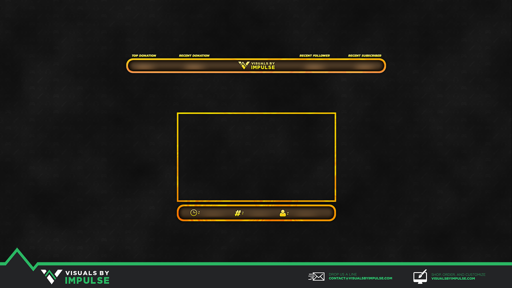 RiseNShine Twitch Overlay - Visuals by Impulse