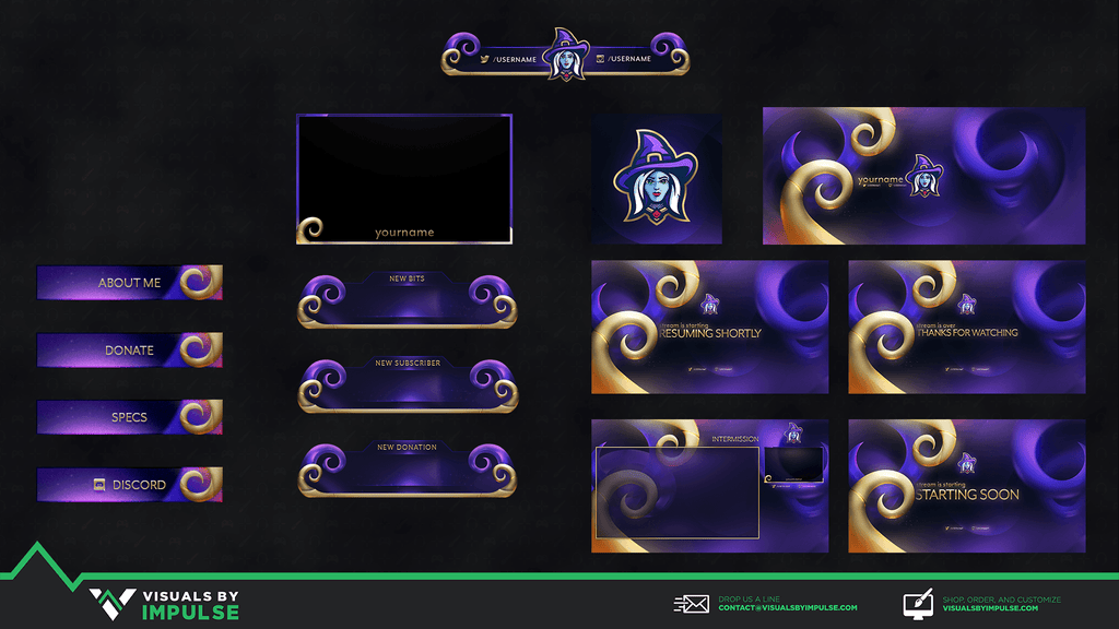 A Witch Diamond Stream Package