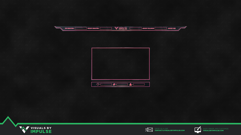Sunset Glow Twitch Overlay - Visuals by Impulse