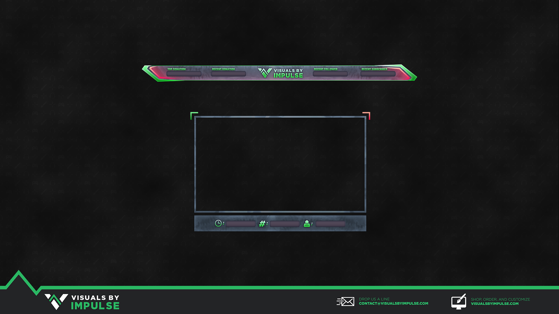 melon twitch overlay visuals by impulse