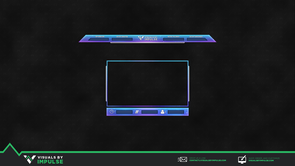 Constellation Twitch Overlay - Visuals by Impulse