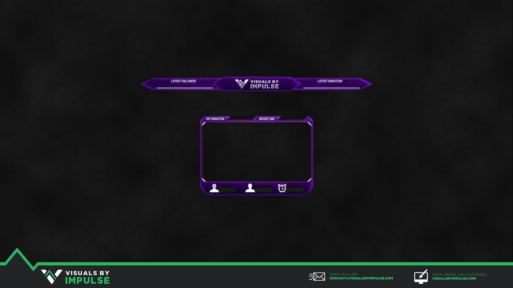 Haunted Twitch Overlay - Visuals by Impulse