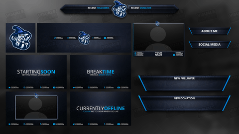 Sorcerer Diamond Stream Package - Visuals by Impulse